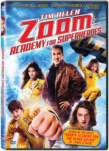 Zoom: Academy for Superheroes DVD