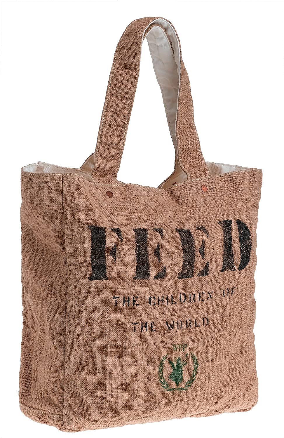 World Food Programme Feed Bag - Free Overnight Shipping & Return Shipping: Endless.com :  purse natural lined world