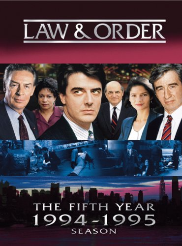 Law &amp; Order - The Fifth Year  DVD