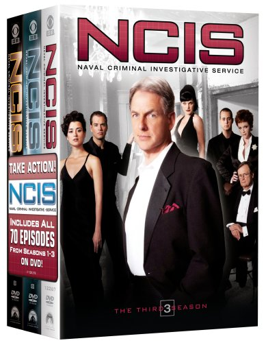 NCIS Naval Criminal Investigative Service - The Complete Seasons 1-3 DVD