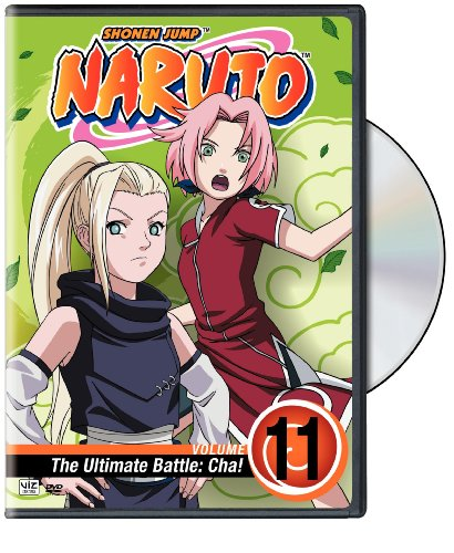 Naruto, Vol. 11 - The Ultimate Battle - Cha! DVD