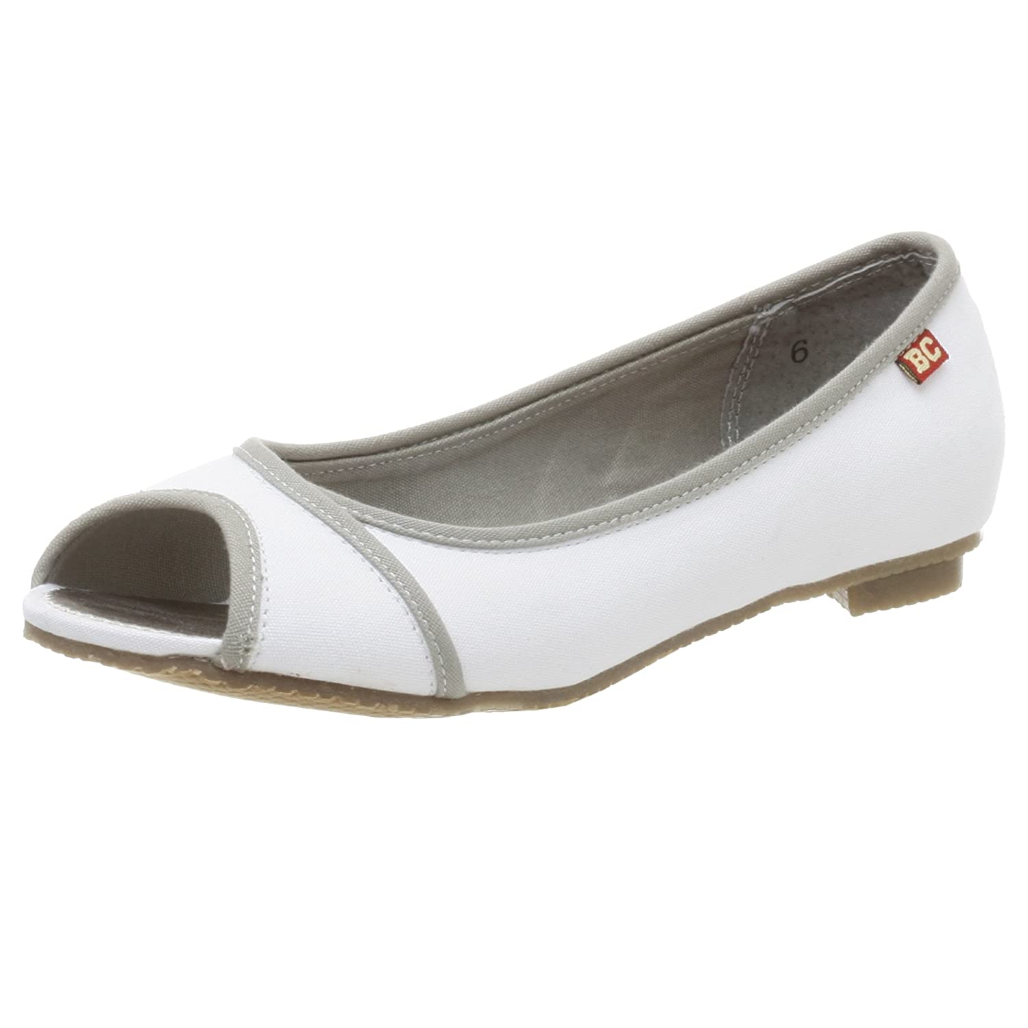 BC Footwear Women's Skinny Dippin Open Toe Flat - Free Overnight Shipping & Return Shipping: Endless.com :  piping retro flats shoes
