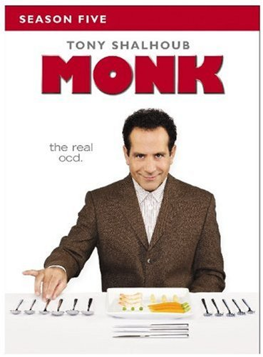 Monk - Season Five DVD