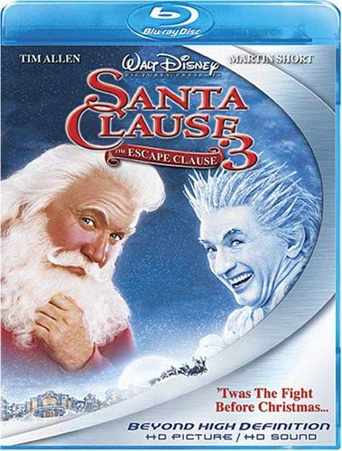 The Santa Clause 3 - The Escape Clause [Blu-ray] DVD