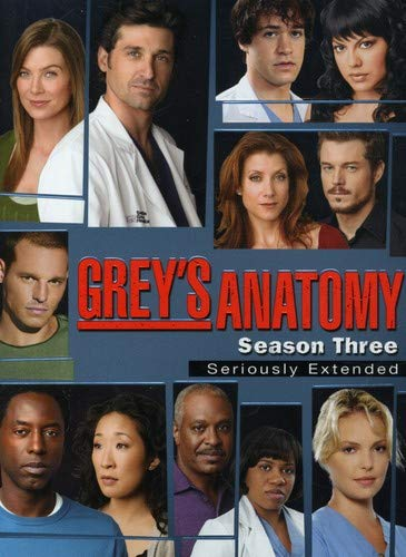 Grey's Anatomy - Season 3 DVD