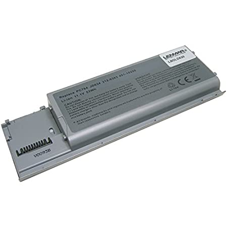Lenmar Battery Fits Dell Latitude D630, D620, Precision M2300,
