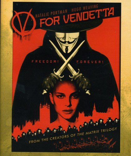V for Vendetta [Blu-ray] DVD