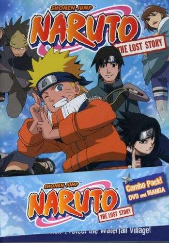 Naruto Ova - The Lost Story  DVD