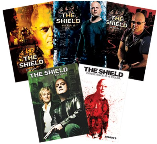 The Shield - Seasons 1 - 5 DVD