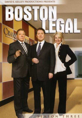 Boston Legal - Season 3 DVD