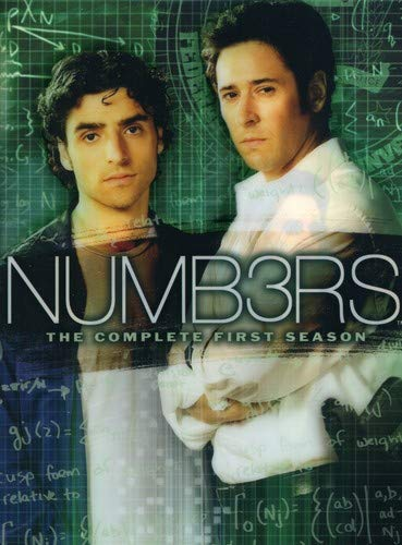Numb3rs: Season 1-3  DVD