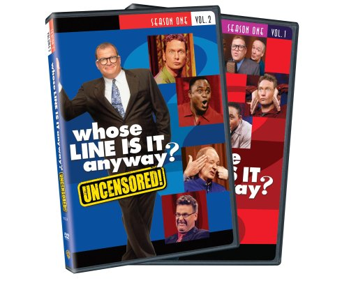 Whose Line Is It Anyway: Season 1, Vol. 1 and 2 Uncensored