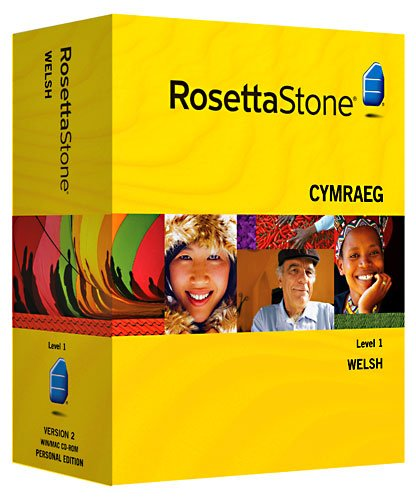 Rosetta Stone Welsh Personal Edition Level 1
