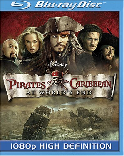 Pirates of the Caribbean - At World's End [Blu-ray] DVD
