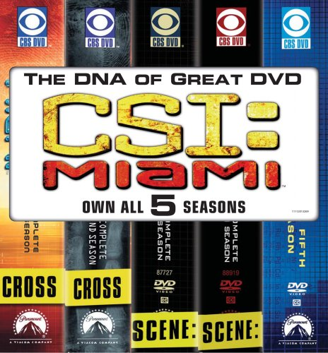 CSI Miami: Five Season Pack DVD