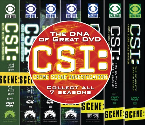 C.S.I. Crime Scene Investigation - Seasons 1-7 DVD