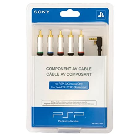 Sony Slimcomponent Avout Cable For Playstation Portable