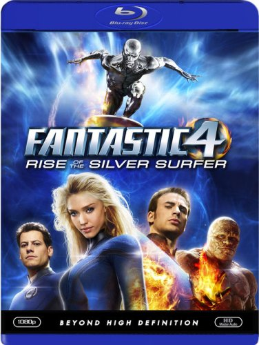 Fantastic Four - Rise of the Silver Surfer [Blu-Ray] DVD