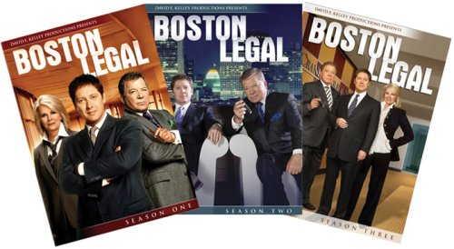 Boston Legal - Seasons 1 - 3 DVD