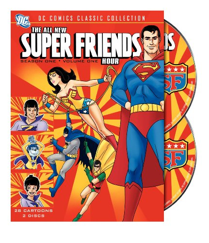 The All New Super Friends Hour: Season One, Volume 1 cover