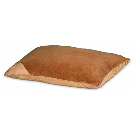 Deluxe Pillow Bed W/microban – Caramel (large 36×45)