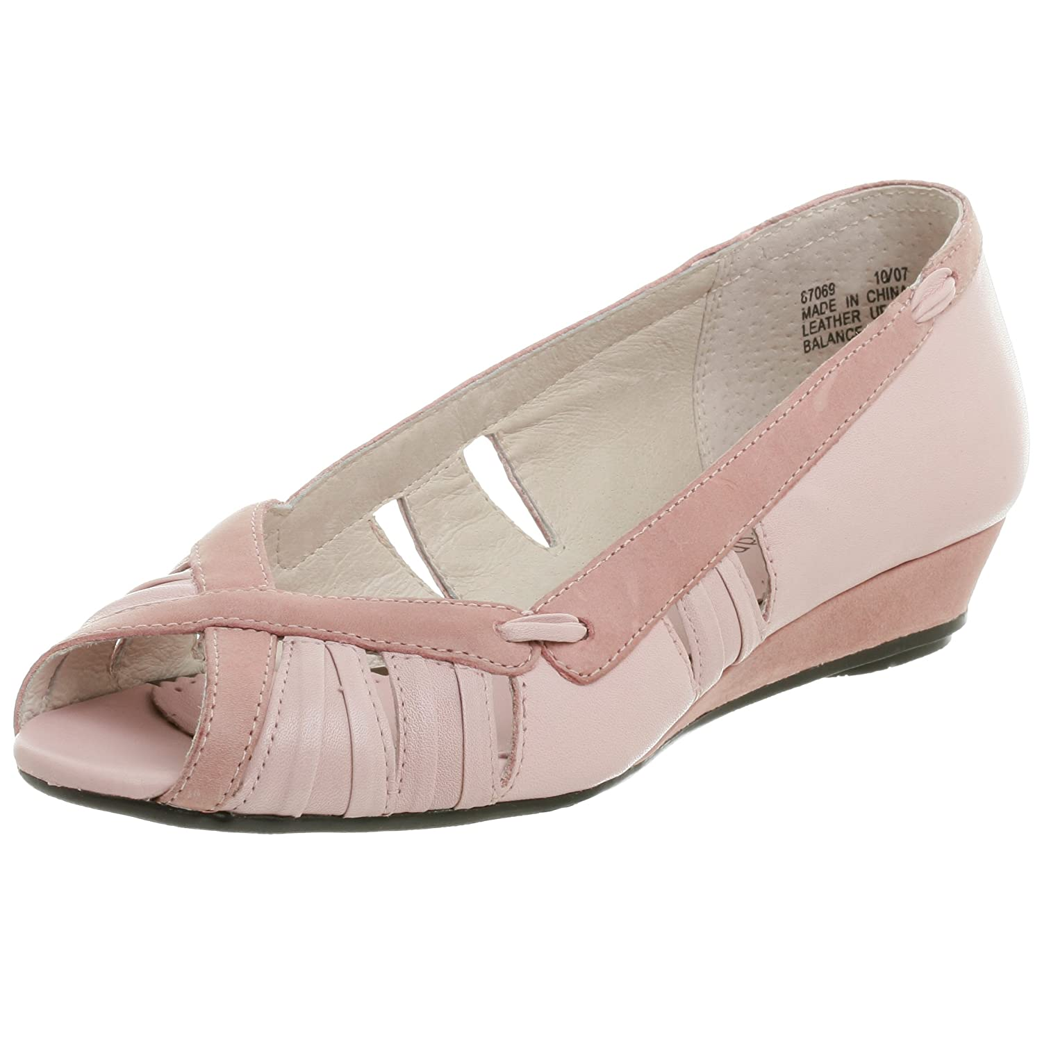Clarks Women's Essen Wedge - Free Overnight Shipping & Return Shipping: Endless.com :  clarks women pleats peeptoe