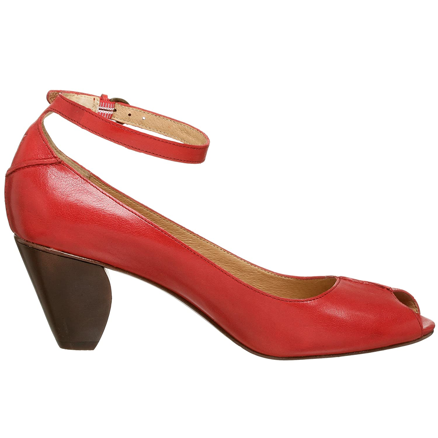 Frye Louise Pump - Free Overnight Shipping & Return Shipping: Endless.com :  leather retro heels ankle strap