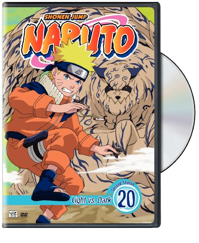 Naruto Vol. 20- Light Vs. Dark DVD