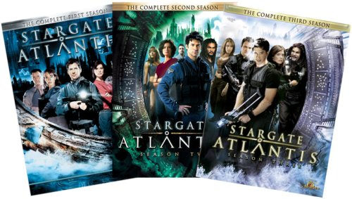Stargate Atlantis - The Complete Seasons 1 - 3 DVD