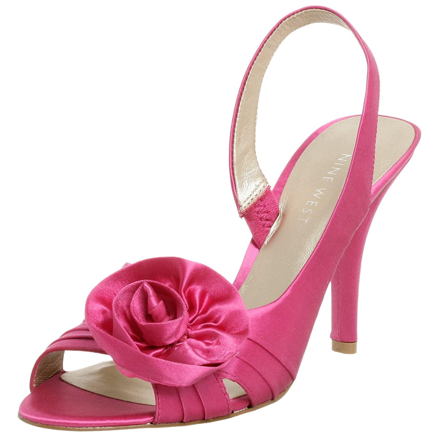 slingback bridal shoes, pink wedding shoes