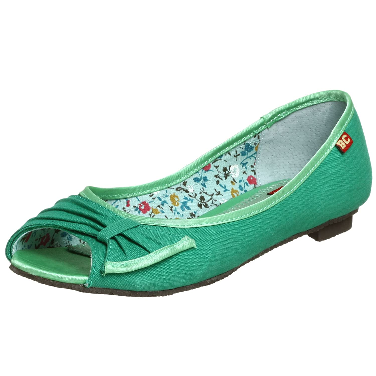 BC Footwear Women's Bangs Flat - Free Overnight Shipping & Return Shipping: Endless.com :  kitten heels retro flats shoes