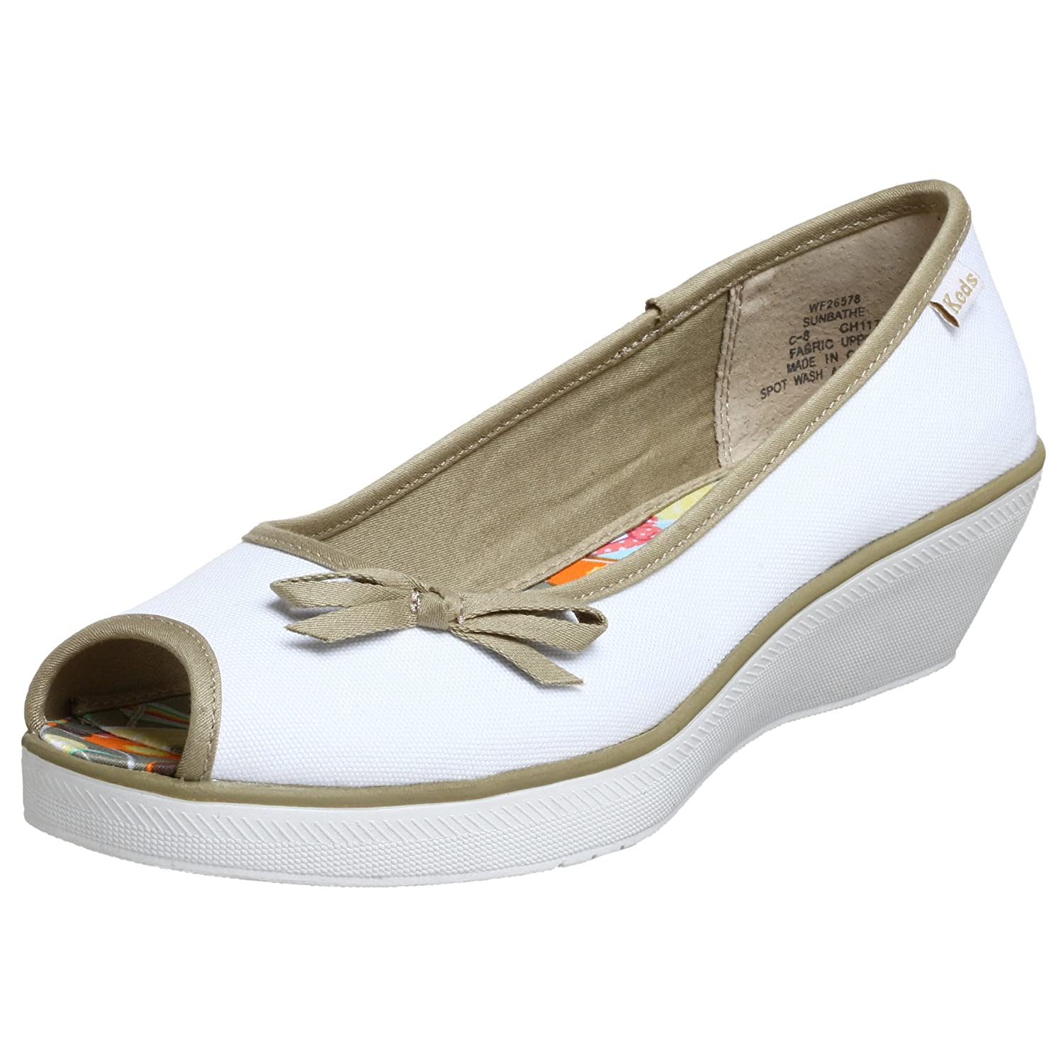 Keds Sunbathe Wedge Sneaker - Free Overnight Shipping & Return Shipping: Endless.com from endless.com