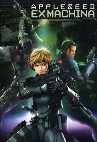 Appleseed Ex Machina cover