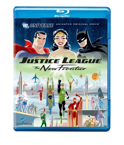 Justice League: The New Frontier (Blu-ray) cover