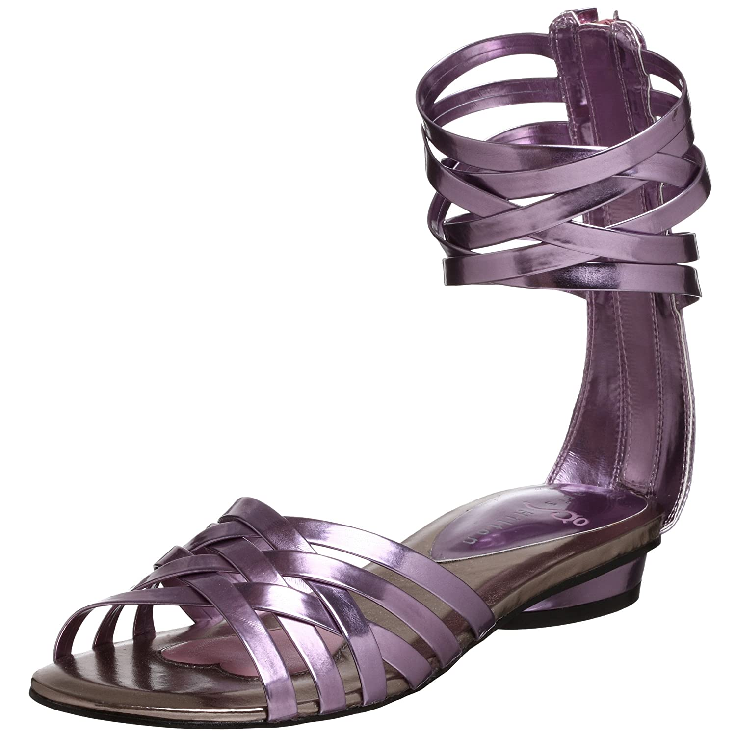 Endless.com: Paris Hilton Women's Goddess Gladiator Sandal: Categories - Free Overnight Shipping & Return Shipping :  collection ballet flats dressy metallic