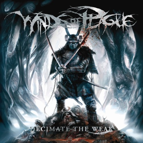 Decimate The Weak Winds of Plague album art