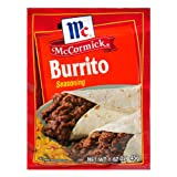 McCormick Burrito Seasoning