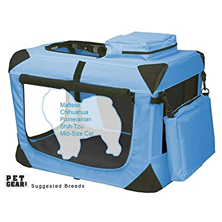 Ocean Blue Deluxe Portable Soft Crate