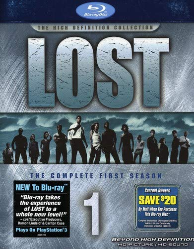 Lost: The Complete First Season [Blu-ray] DVD