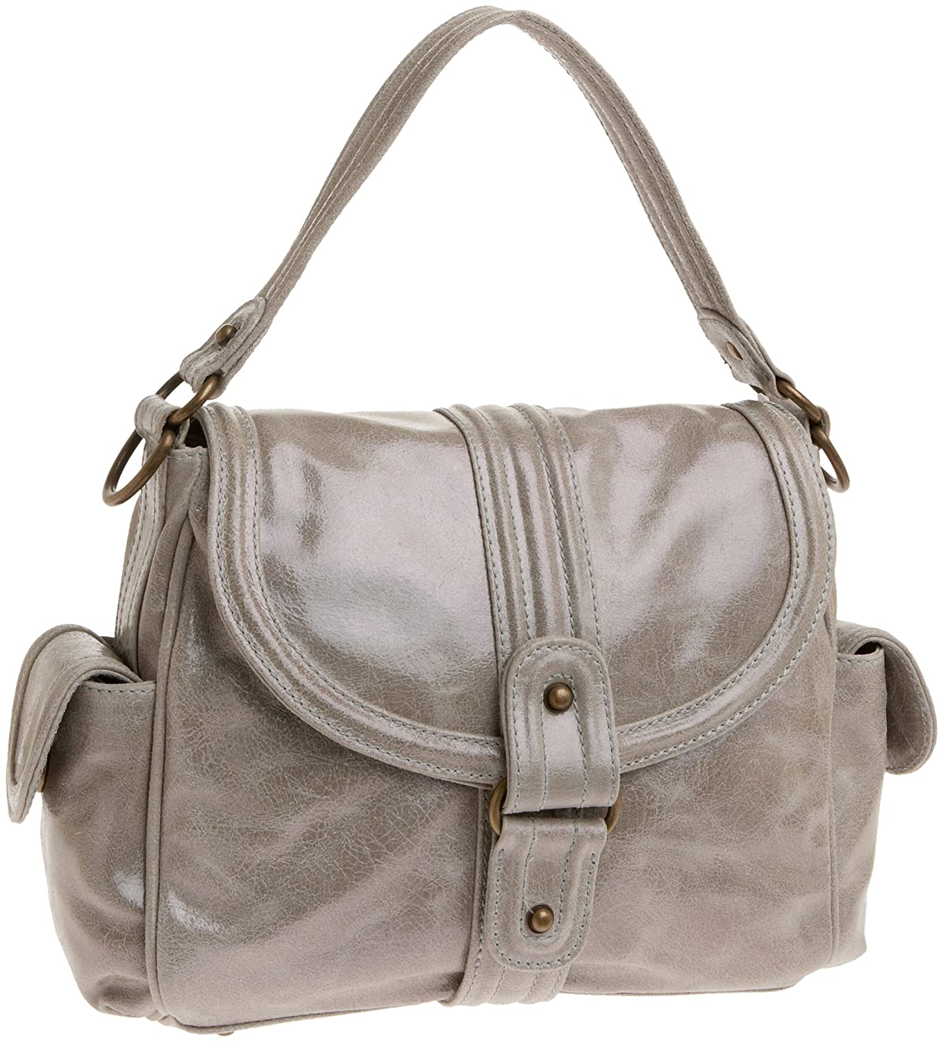 KALE Cameron Satchel - Free Overnight Shipping & Return Shipping: Endless.com :  bowling bag lined straps bag