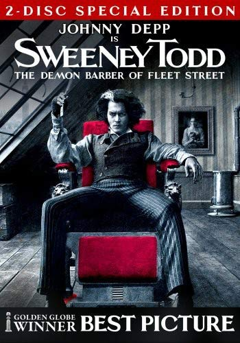 Sweeney Todd - The Demon Barber of Fleet Street  DVD