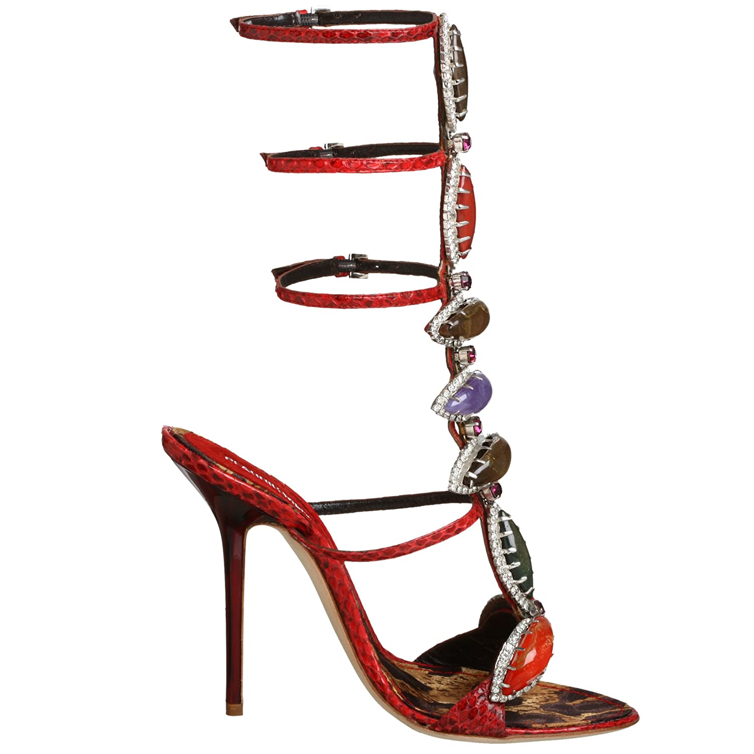 Endless.com: Claudio Merazzi Women's CM 583 Sandal: Categories - Free Overnight Shipping & Return Shipping :  designer heels shoes embellished