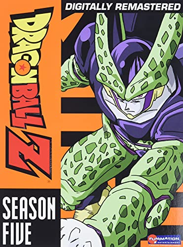 Dragon Ball Z: Season Five Perfect and Imperfect Cell Sagas