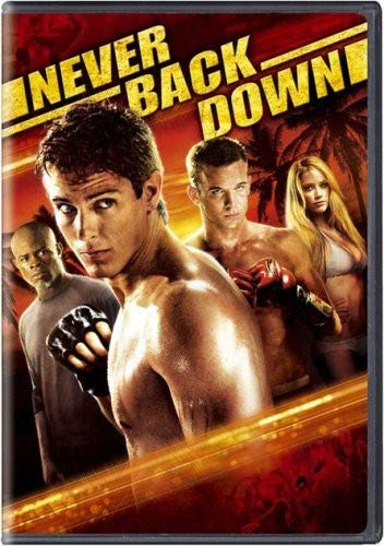 Never Back Down DVD