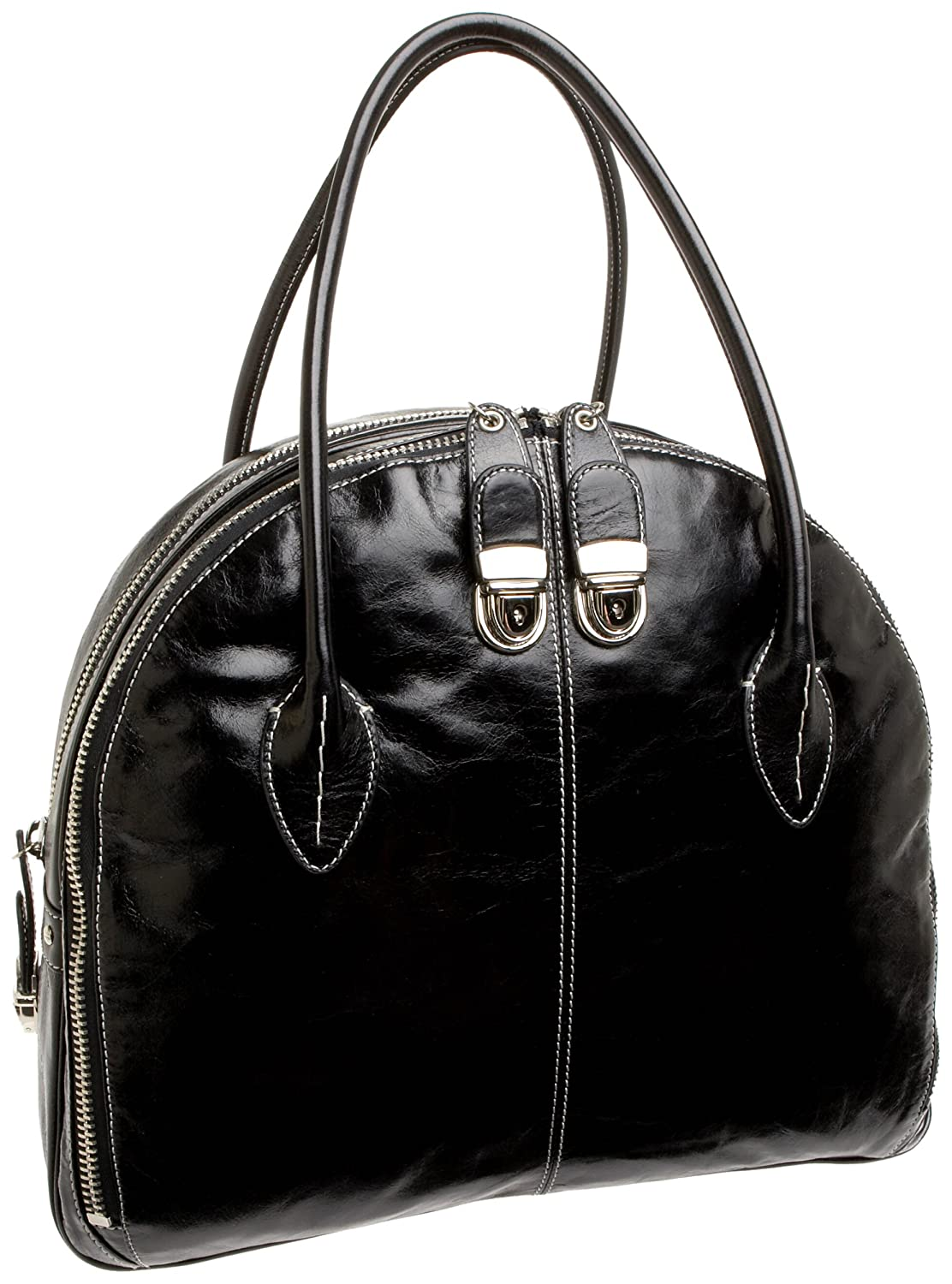 Cynthia Rowley Ginny Athene Bowler - Free Overnight Shipping & Return Shipping: Endless.com :  handles lined bag lock