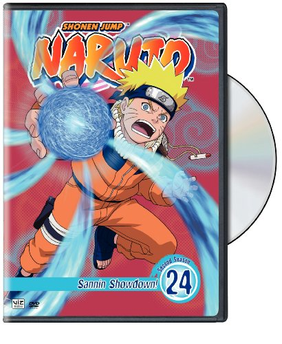 Naruto Vol. 24 DVD