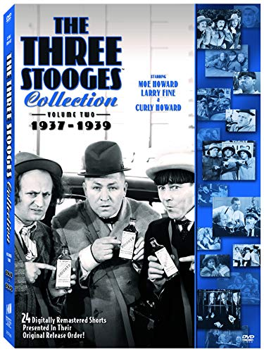 The Three Stooges Collection, Vol. 2: 1937-1939