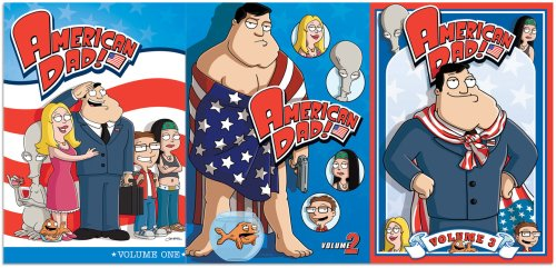 American Dad: Vol. 1-3 DVD