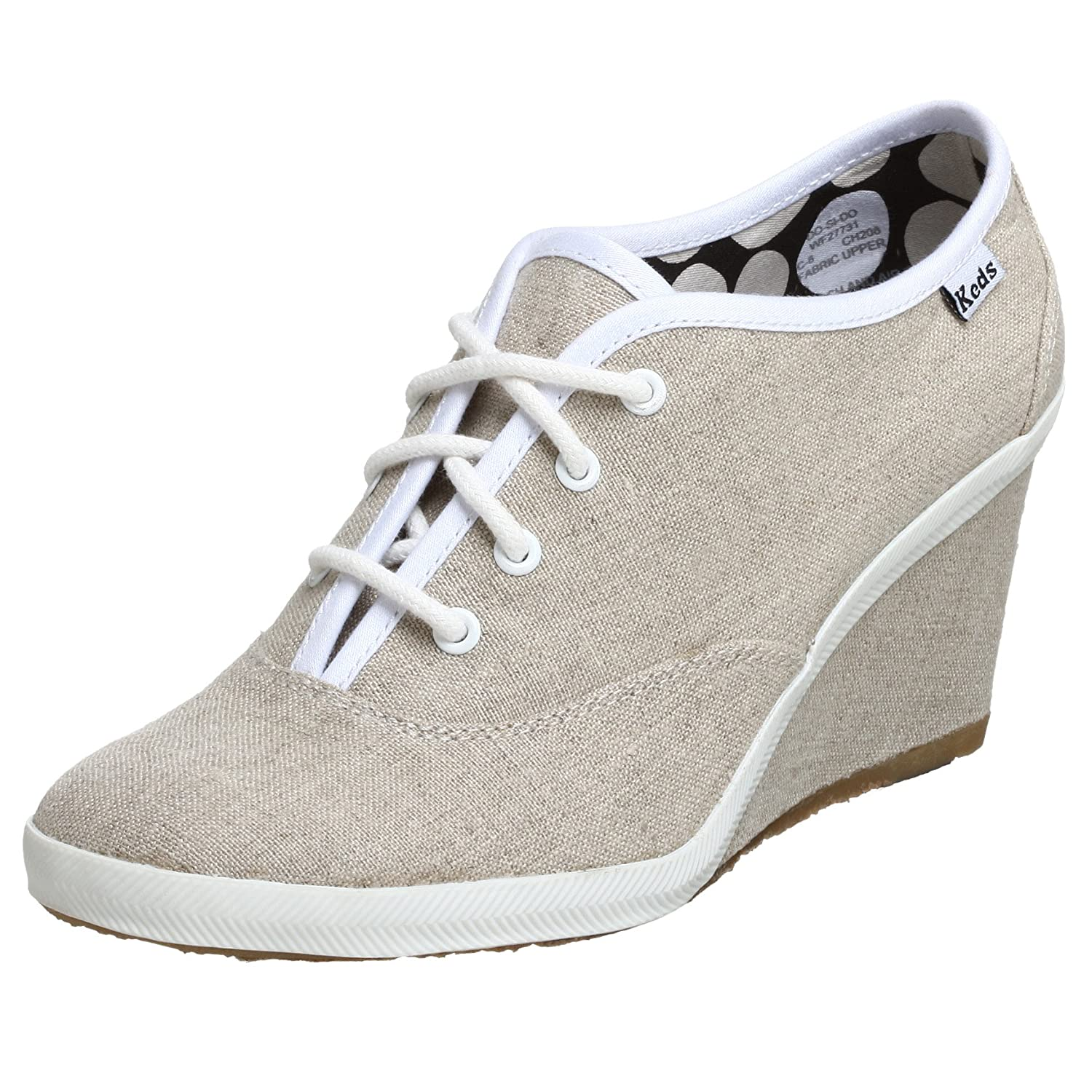 Keds Women's Do-Si-Do Wedge - Free Overnight Shipping & Return Shipping: Endless.com :  wedges shoes lace up keds