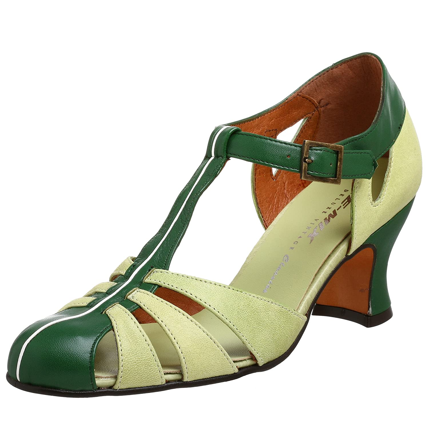 Re-Mix Vintage Balboa Sandal - Free Overnight Shipping & Return Shipping: Endless.com :  t-strap retro heels sandals